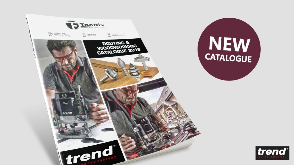 NEW Trend Catalogue | Routing and Woodworking 2016