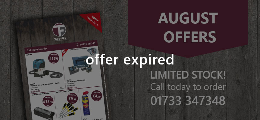 August Offers - Now expired