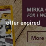 MIRKA Offers - One Week Only