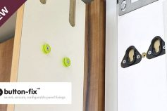 Discover Button-Fix Panel Fixings