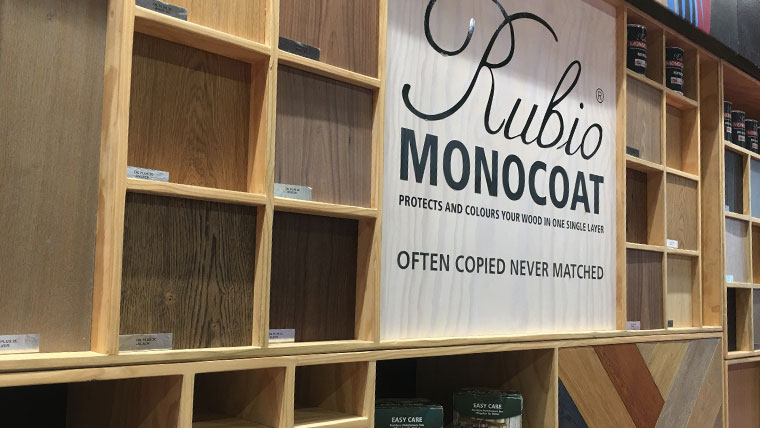 W18 Exhibition - Rubio Monocoat