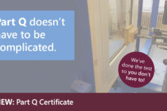Part Q Window Certification Scheme