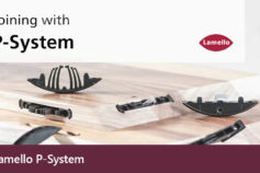 Lamello P-System: Form-locking anchorage, without tools.