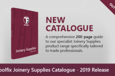 Toolfix Joinery Supplies Catalogue – 2019 Release
